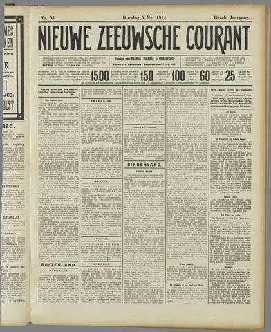 Nieuwe Zeeuwsche Courant 1914-05-05