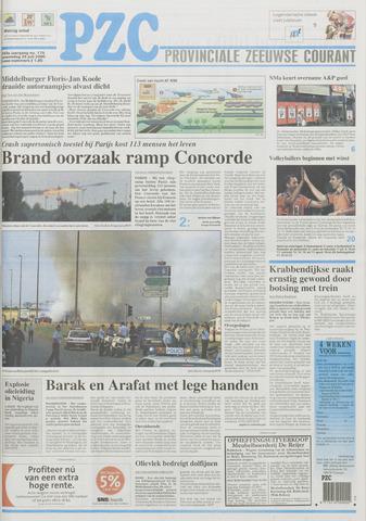 Provinciale Zeeuwse Courant 2000-07-26