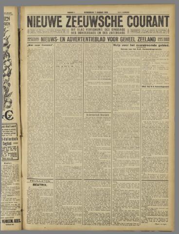 Nieuwe Zeeuwsche Courant 1926-01-07