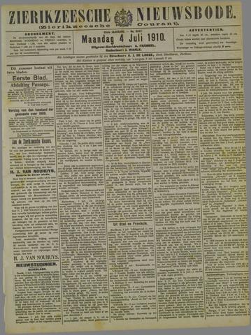 Zierikzeesche Nieuwsbode 1910-07-04