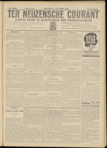 Ter Neuzensche Courant. Algemeen Nieuws- en Advertentieblad voor Zeeuwsch-Vlaanderen / Neuzensche Courant ... (idem) / (Algemeen) nieuws en advertentieblad voor Zeeuwsch-Vlaanderen 1937-10-04