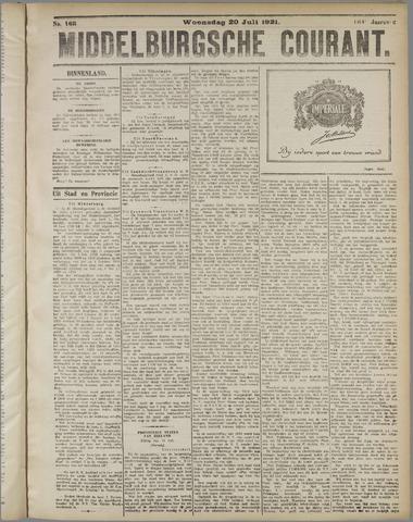 Middelburgsche Courant 1921-07-20
