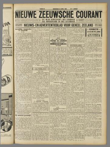 Nieuwe Zeeuwsche Courant 1930-04-24