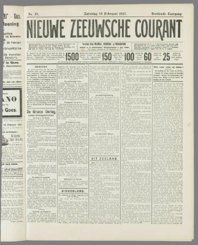 Nieuwe Zeeuwsche Courant 1917-02-10