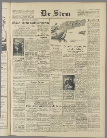 de Stem 1948-11-27
