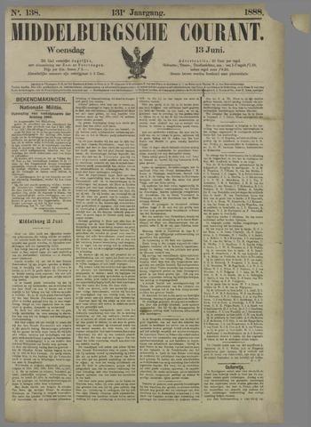 Middelburgsche Courant 1888-06-13