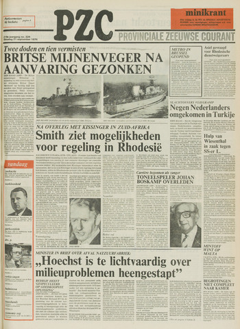 Provinciale Zeeuwse Courant 1976-09-21