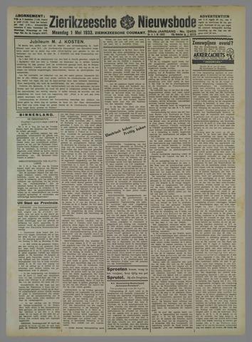 Zierikzeesche Nieuwsbode 1933-05-01
