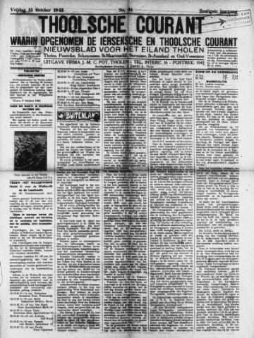 Ierseksche en Thoolsche Courant 1943-10-15