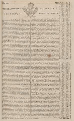 Middelburgsche Courant 1785-09-15