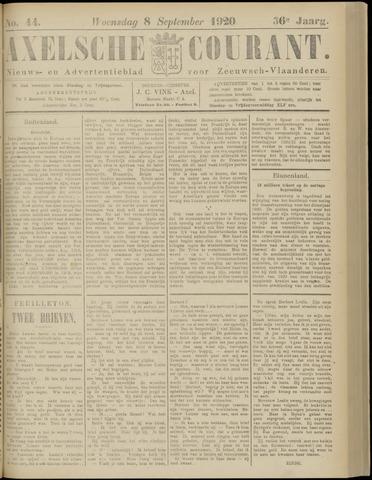 Axelsche Courant 1920-09-08