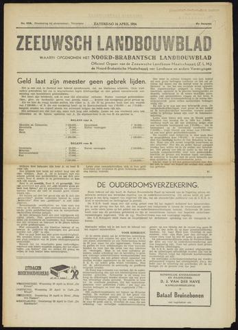 Zeeuwsch landbouwblad ... ZLM land- en tuinbouwblad 1954-04-24