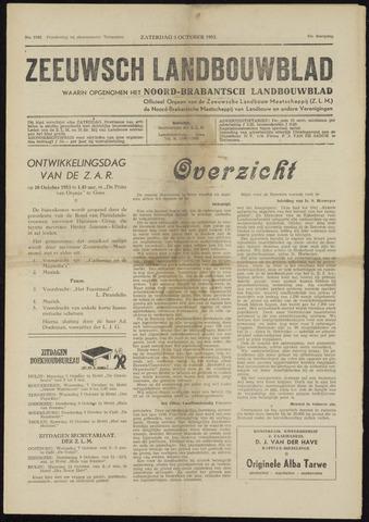 Zeeuwsch landbouwblad ... ZLM land- en tuinbouwblad 1953-10-03