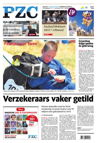 Provinciale Zeeuwse Courant 2015-07-30