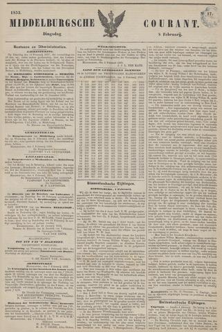 Middelburgsche Courant 1853-02-08