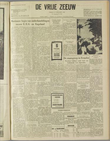 de Vrije Zeeuw 1961-11-10