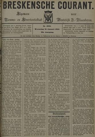 Breskensche Courant 1914-01-21