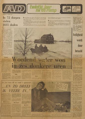 Watersnood documentatie 1953 - kranten 1973-01-27