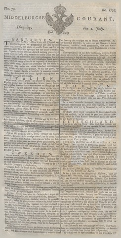 Middelburgsche Courant 1776-07-02