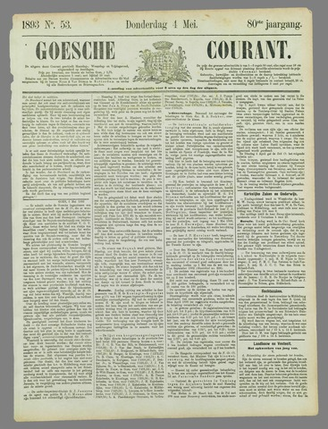 Goessche Courant 1893-05-04