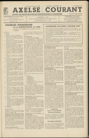 Axelsche Courant 1967-11-25