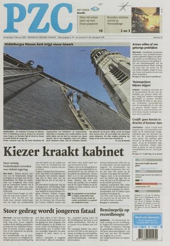 Provinciale Zeeuwse Courant 2008-02-21