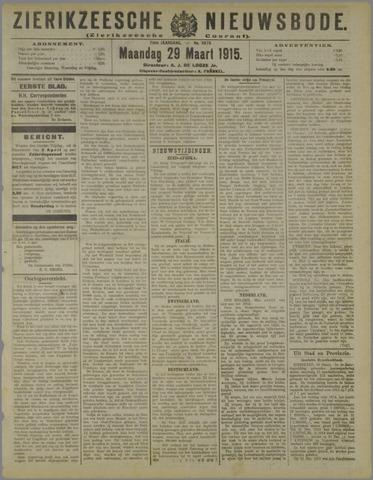 Zierikzeesche Nieuwsbode 1915-03-29