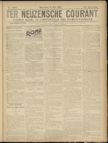 Ter Neuzensche Courant. Algemeen Nieuws- en Advertentieblad voor Zeeuwsch-Vlaanderen / Neuzensche Courant ... (idem) / (Algemeen) nieuws en advertentieblad voor Zeeuwsch-Vlaanderen 1928-05-14