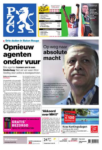 Provinciale Zeeuwse Courant 2016-07-18