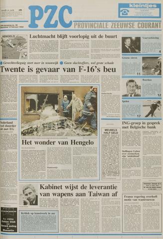 Provinciale Zeeuwse Courant 1992-02-12