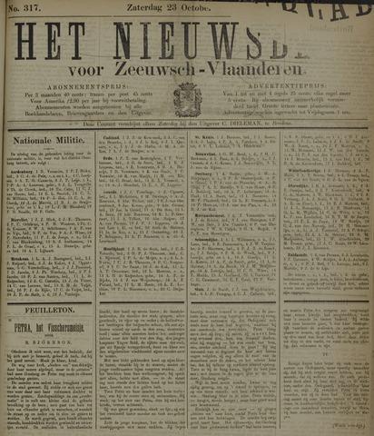 Nieuwsblad voor Zeeuwsch-Vlaanderen 1897-10-23