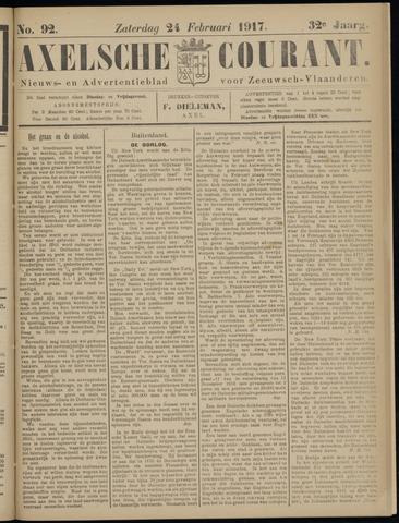 Axelsche Courant 1917-02-24