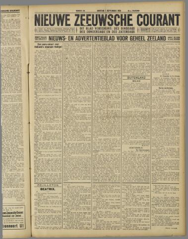 Nieuwe Zeeuwsche Courant 1925-09-01
