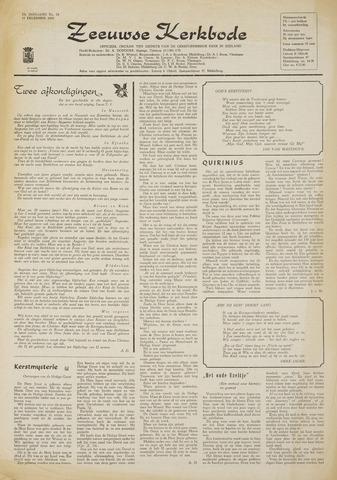 Zeeuwsche kerkbode, weekblad gewijd aan de belangen der gereformeerde kerken/ Zeeuwsch kerkblad 1968-12-19