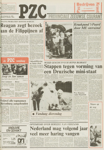 Provinciale Zeeuwse Courant 1983-10-04