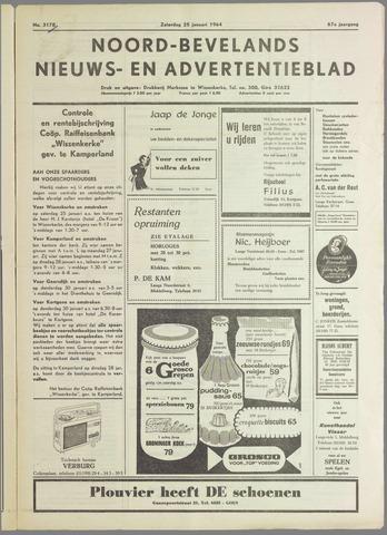 Noord-Bevelands Nieuws- en advertentieblad 1964-01-25