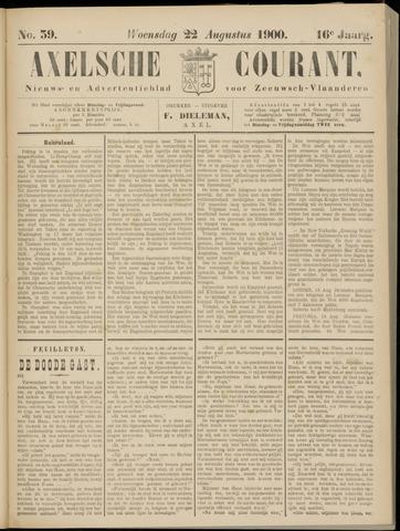 Axelsche Courant 1900-08-22