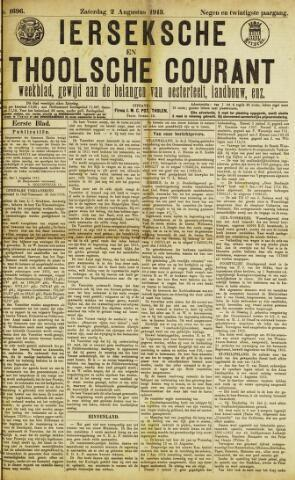 Ierseksche en Thoolsche Courant 1913-08-02