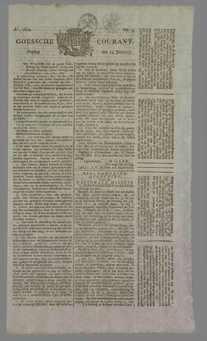 Goessche Courant 1820-01-14
