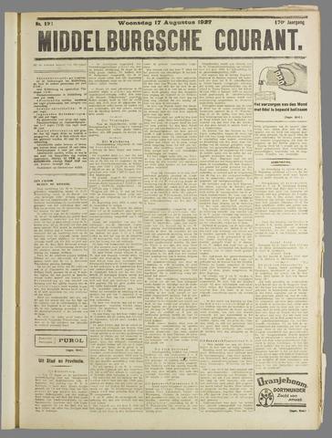 Middelburgsche Courant 1927-08-17