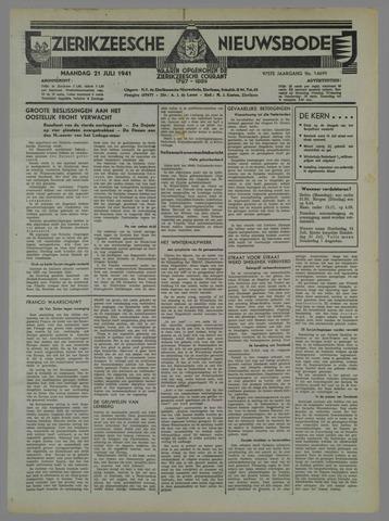 Zierikzeesche Nieuwsbode 1941-08-02
