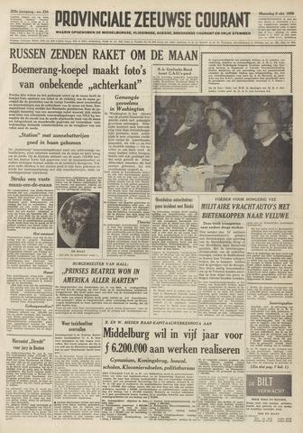 Provinciale Zeeuwse Courant 1959-10-05