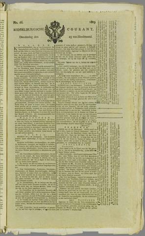 Middelburgsche Courant 1809-05-25