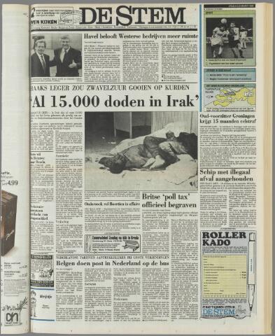 de Stem 1991-03-22