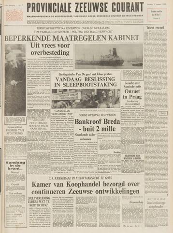 Provinciale Zeeuwse Courant 1969-01-07