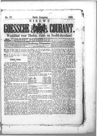 Nieuwe Goessche Courant 1868-09-10