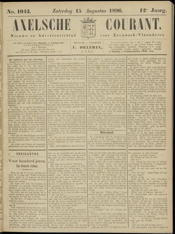 Axelsche Courant 1896-08-15