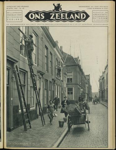 Ons Zeeland / Zeeuwsche editie 1932-04-29