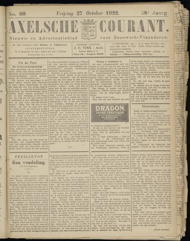 Axelsche Courant 1922-10-27