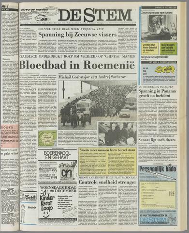 de Stem 1989-12-19